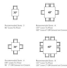 normal dining table height normal dining table size square table seating guide normal dining