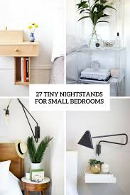 tiny bedside table nightstand for small spaces home design and decorating ideas