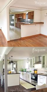 Kitchen Remodel Before And After by Kitchen Renovation Before After Kitchen Design Decor U0026 Layout
