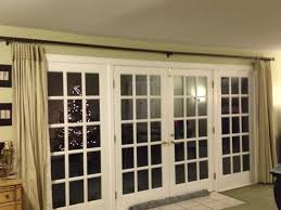 extra long curtain rods for patio doorsdecorating french door curtains for cute interior home decorating