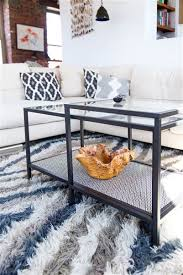 minute diy add style to your coffee table with this ikea hack  with add style to your coffee table with this ikea hack from pinterestcom