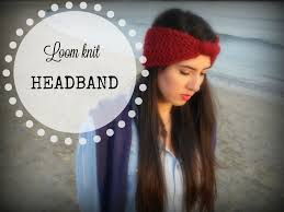 knitted headband how to make a headband tutorial step by step for beginner loom