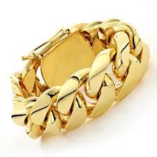 gold bracelet with links images Half kilo miami cuban link gold bracelet solid 10k jpg