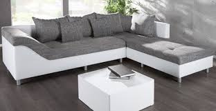 canap blanc gris canape d angle droit sultan blanc gris