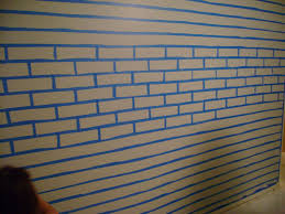 fuax brick painting on concrete faux brick wall faux much fun