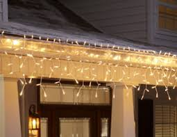 how to hang icicle lights merry and bright led holiday lights