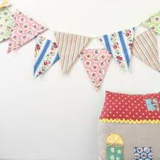 Shabby Chic Banner by New Pink And Blue Fabric Banners Garland Wedding Bunting Garland