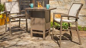 Bar Height Fire Table Top 10 Outdoor Hi Top Sets