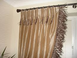 Curtain Rod Instructions Bedroom How To Make Pinch Pleated Drapes Extravagant With Satin