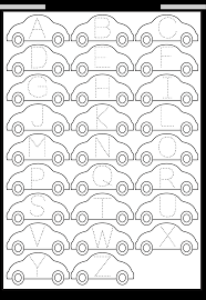 alphabet tracing free printable worksheets u2013 worksheetfun