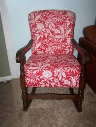 platform rocker upholstered 1950 u0027s collectors weekly home
