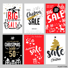 new year shopping set of christmas and new year mobile sale banners vector