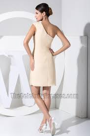 new style short one shoulder party dress cocktail dresses with