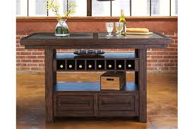 Dining Room Table With Wine Rack Starmore Counter Height Dining Room Table Furniture Homestore