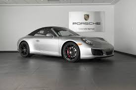 porsche black 2017 porsche 911 carrera 4s for sale in colorado springs co 17146