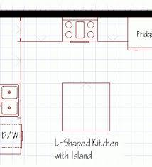 kitchen island floor plans u shaped kitchen floor plans with island kitchen designs with