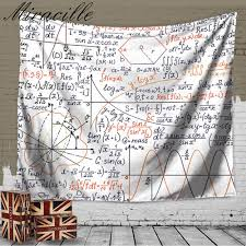 compare prices on mathematics wall online shopping buy low price miracille home fashion decoration chemical mathematical formula wall art tapestry beach towel bedroom cover up carpet