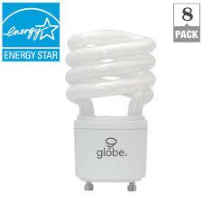 T2 Fluorescent Light Fixtures Globe Electric 60w Equivalent Soft White 2700k T2 Gu24 Base