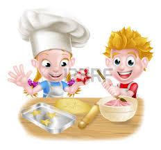 la cuisine des chefs enfants chef cuisinier cuisson de gâteaux à dessert et