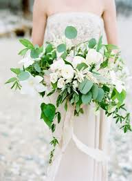 White Wedding Bouquets 170 Best Bouquets White U0026 Green Images On Pinterest Bridal
