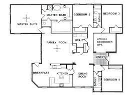 1 story 4 bedroom house plans 4 bedroom 4 bath house plans 4 bedroom 3 car garage floor plans 6