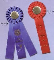 cheap ribbons achievement award ribbons flat and rosette award ribbons