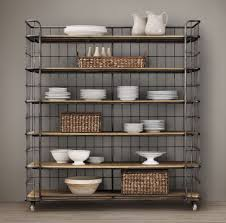 Commercial Bakers Rack Kitchen Industrial Bakers Rack Storage Design Ideas U0026 Decors