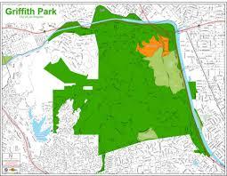 griffith park map griffith park maplets
