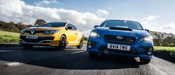 subaru hatchback wing can a fwd renault megane 275 trophy really take on the awd subaru