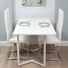 Dining Room Sets With Wheels On Chairs White Dining Table Set With Lovely Small White Dining Room Set
