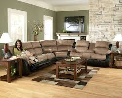 Microfiber Sofa Sectionals Sectional Sectional Sofa With Recliner And Queen Sleeper