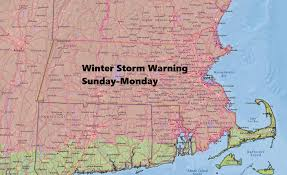 forecast large ocean storm brings wind snow sunday into monday