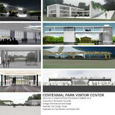 concepts for a centennial park visitor center by nashville civic
