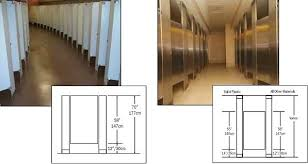 Stainless Steel Bathroom Partitions by Global Partitions Stainless Steel Toilet Partitions