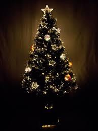 christmas tree optical fiber home decorating interior design