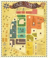 Albuquerque Map 2012 Old Town Map 1 Albuquerque Comic Con