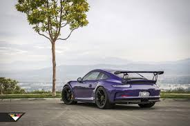 porsche 911 gt3 modified purple beast vorsteiner goes to town on porsche 911 gt3 rs