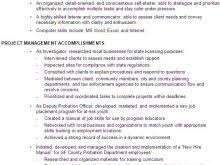 Best 25 Project Manager Resume by Project Management Resume Words Free Resume