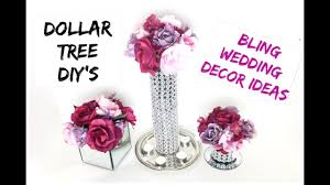 Wedding Centerpiece Stands by Diy Dollar Tree Bling Decor Stands Wedding Bling Centerpiece