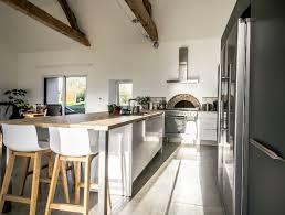 cuisine scandinave modele de cuisine avec ilot get green design de maison