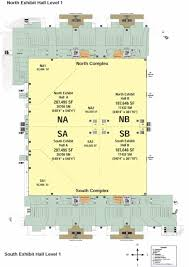 Orange County Convention Center Floor Plan by The Whittaker Group Inc
