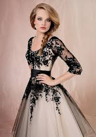 black lace wedding dresses black lace bridesmaid dresses with sleeves naf dresses