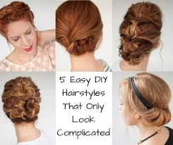 hairstyles only 5 easy diy hairstyles that only look complicated ebay