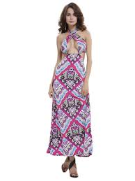 sexi maxi dresses ethnic floral pattern cut out maxi dress 29291 0 jpg