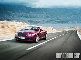 bentley continental gt speed more 2013 bentley continental gt speed convertible european car magazine
