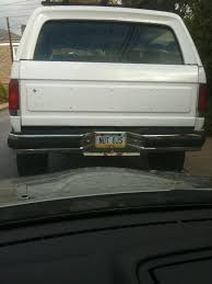 white bronco car left for work this morning when i saw this alibi pics