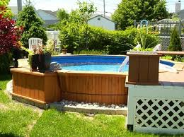 Backyard Above Ground Pool by Best 20 Oval Above Ground Pools Ideas On Pinterest Swimming