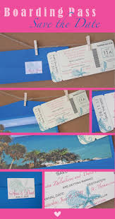 Boarding Pass Save The Date Boarding Pass Save The Date A U0026p Design