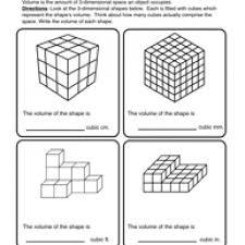 volume worksheet worksheets
