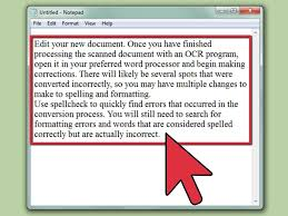 how to edit a scanned document 5 steps with pictures wikihow